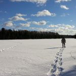 Rock Lake Snowshoeing